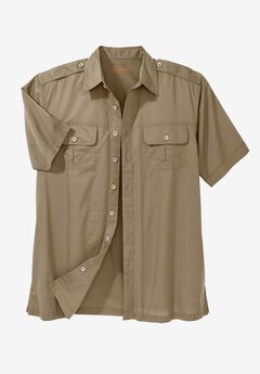 Short Sleeve Pilot Shirt by Boulder Creek®,