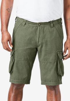 Cargo Shorts by Replika®, OLIVE
