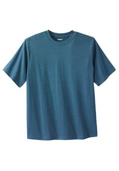 Shrink-Less™ Pocketless Crewneck Tee,