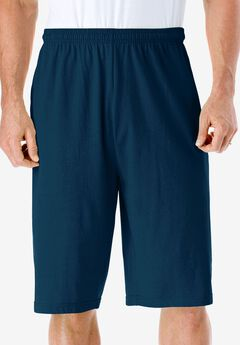 Lightweight Extra Long Shorts, NAVY