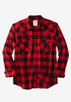 Lassen Brushed Flannel Shirt by Levi's®,