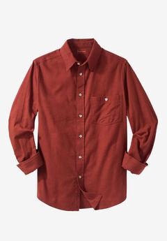 Solid Flannel Shirt by Boulder Creek®,