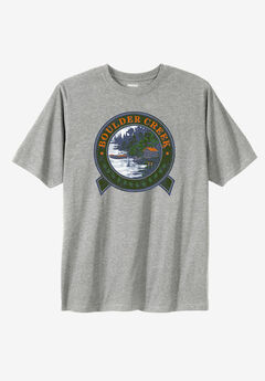 Boulder Creek® Nature Graphic Tee,