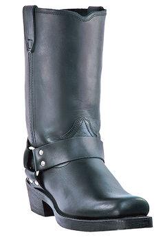 "Dingo 11"" Harness Boots, BLACK"