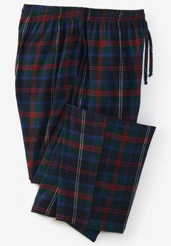 Flannel Plaid Pajama Pants,