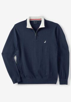"""Nautica® 1/4"""" Zip Navtech Sweater,"""