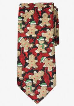 Extra Long Novelty Holiday Tie,