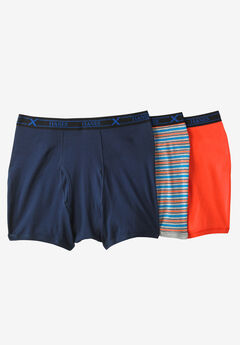 FreshIQ® X-Temp® Comfort Cool ® Boxer Briefs 3-Pack by Hanes®,