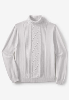 Liberty Blues® Shoreman's Cable Knit Sweater,