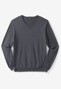 Pima V-Neck Sweater,