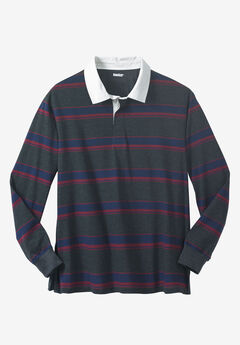 Long-Sleeve Rugby Polo,