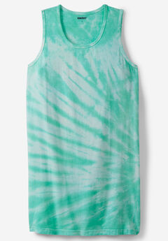 Longer-Length Lightweight Muscle Tank,