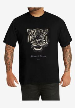 MVP Collections® Tiger Graphic T-Shirt,