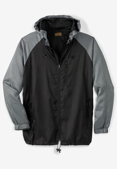 Lightweight Packable Performance Windbreaker Jacket,