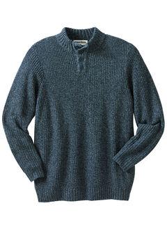 Henley Shaker Sweater,