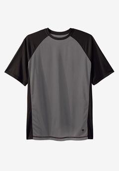 Raglan Sleeve Swim Shirt,
