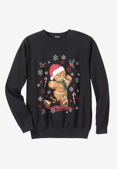 Festive Fleece Sweatshirt,