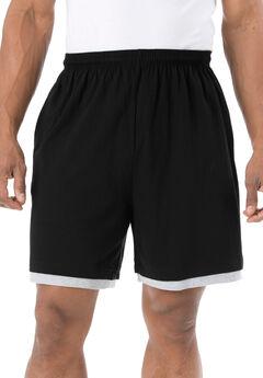 Hang-down Lightweight Shorts, BLACK