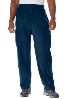 Explorer Plush Fleece Cargo Sweatpants,