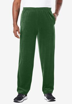 Velour Open Bottom Pants,