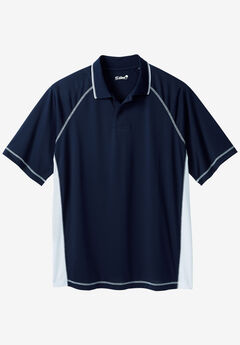 Raglan Sleeve Swim Polo,