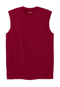 Shrink-Less™ Sleeveless Muscle T-Shirt,