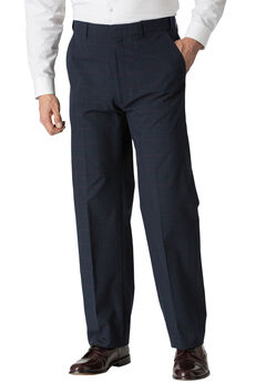 Plain Front Expandable Dress Pants by KS Signature®,