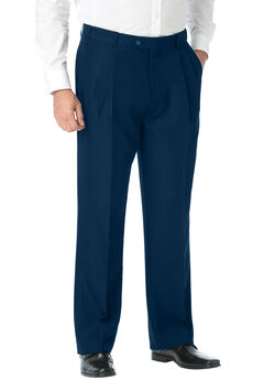 Double-Pleat Expandable Dress Pants by KS Signature®,