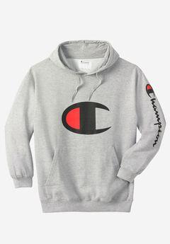 Champion® Large Logo Hoodie,