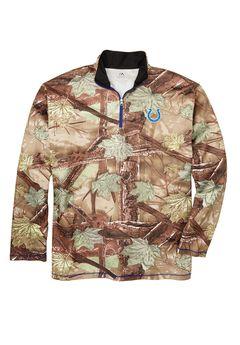 NFL® Men 1/4-Zip Pullover Jacket,