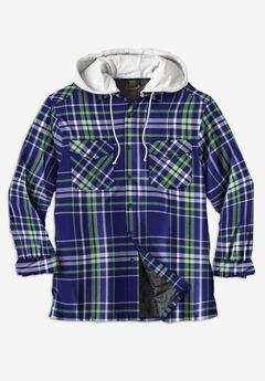 Boulder Creek™ Removable Hood Shirt Jacket,