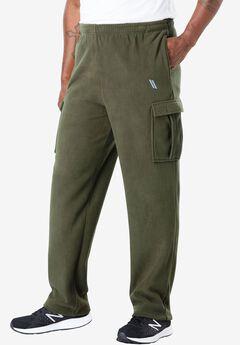 Cargo Fleece Tech Pants by KS Sport™,