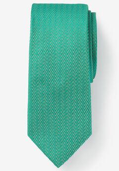 Classic Textured Tie, TIDAL GREEN