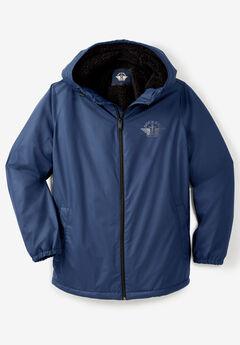 Dockers® Sherpa Lined Raincoat, NAVY