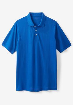 Pima Short-Sleeve Polo,