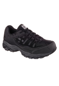 Cankton Steel Toe Work Boots by SKECHERS®,
