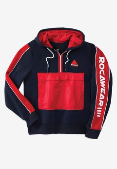 Rocawear® Zip Pocket Pullover Hoodie,