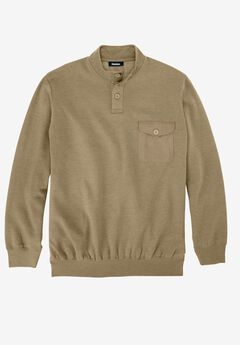 Fleece Henley,