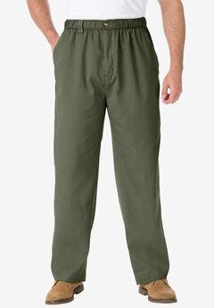 Knockarounds® Full-Elastic Waist Pants in Twill or Denim,