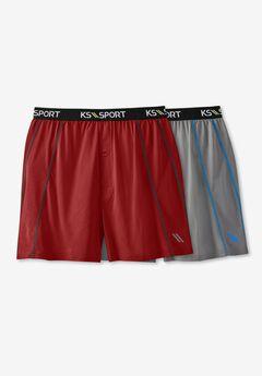 KS Sport™ Performance Boxers 2-Pack,