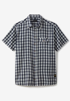 Short-Sleeve Checked Shirt by Replika®,