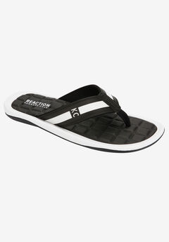 Kenneth Cole Reaction® Path-Way Four Thong Sandals ,