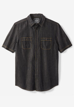 Short-Sleeve Utility Shirt by Liberty Blues®,