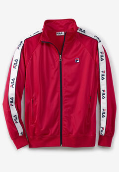 FILA® Taped Logo Track Jacket,