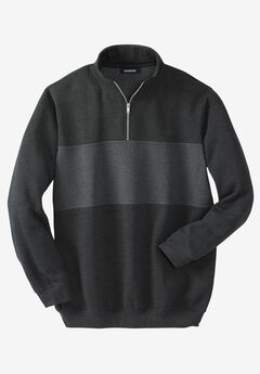 Quarter-zip Fleece Sweatshirt,