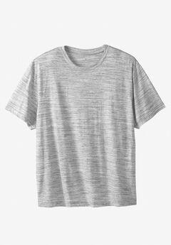 Liberty Blues® Short-Sleeve Crewneck T-Shirt, WHITE MARL