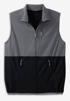 Explorer Plush Fleece Zip Vest,