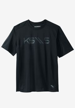 Charger Series Logo Crewneck Tee by KS Sport™,