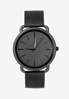 Black Mesh Watch,