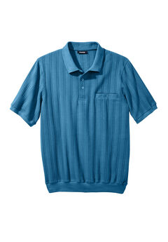 Banded Bottom Polo Shirt,